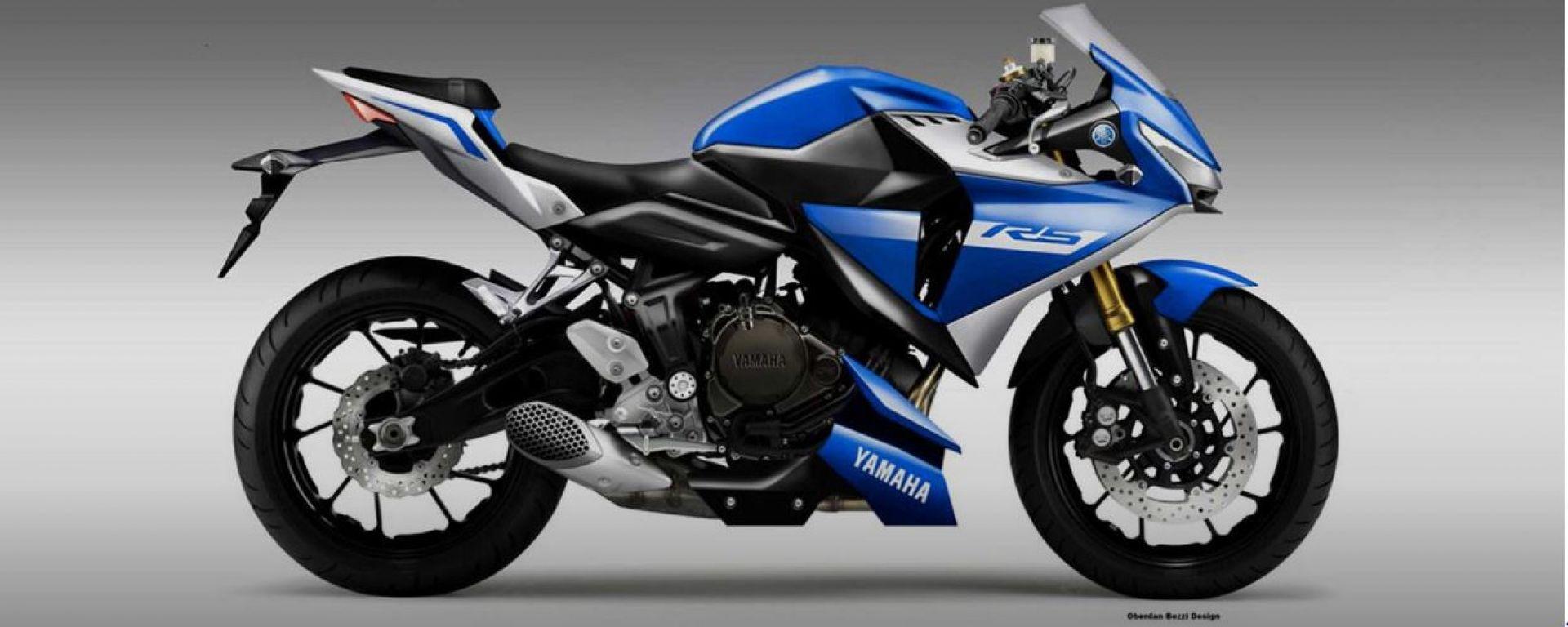 Yamaha R5 by Bezzi, tornano le sportive da 500 cc?