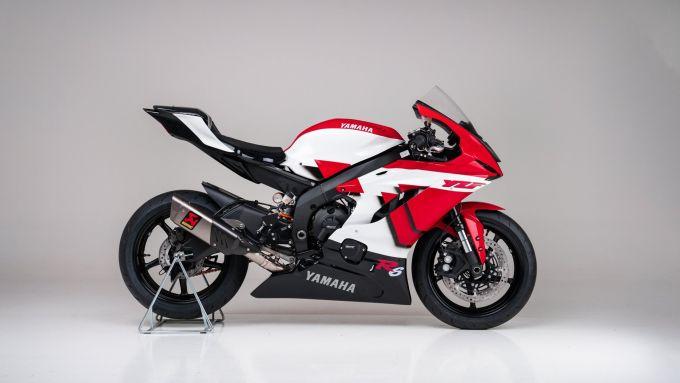 Yamaha R6 20th Anniversary realizzata da YART