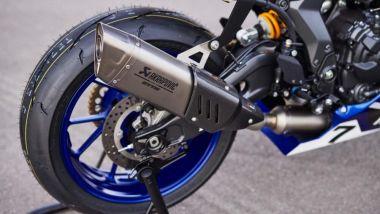 Yamaha R7 GYTR: lo scarico completo Akrapovic