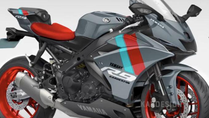 Yamaha R9: ecco come potrebbe essere