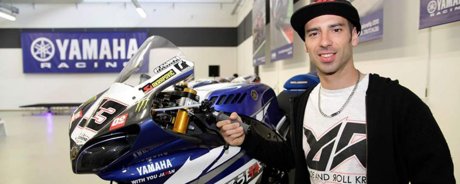 Yamaha Superbike Temple, emozioni al Museo Poggi