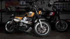Yamaha SCR950 by Jeff Palhegyi insieme alla SCR950 di serie