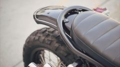 Yamaha SCR950 Chequered by Brat Style, parafango posteriore