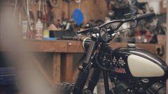 Yamaha SCR950 Chequered by Brat Style, serbatoio