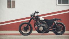 Yamaha SCR950 Chequered by Brat Style, statiche