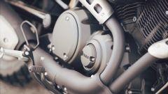 Yamaha SCR950: il motore è un bicilindrico a V raffreddato ad aria