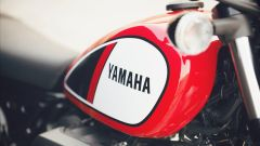 Yamaha SCR950: il serbatoio non ha saldature in vista
