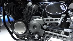 Yamaha SCR950, motore bicilindrico a V