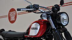 Yamaha SCR950, serbatoio a goccia