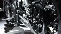 Yamaha SCR950, trasmissione a cinghia