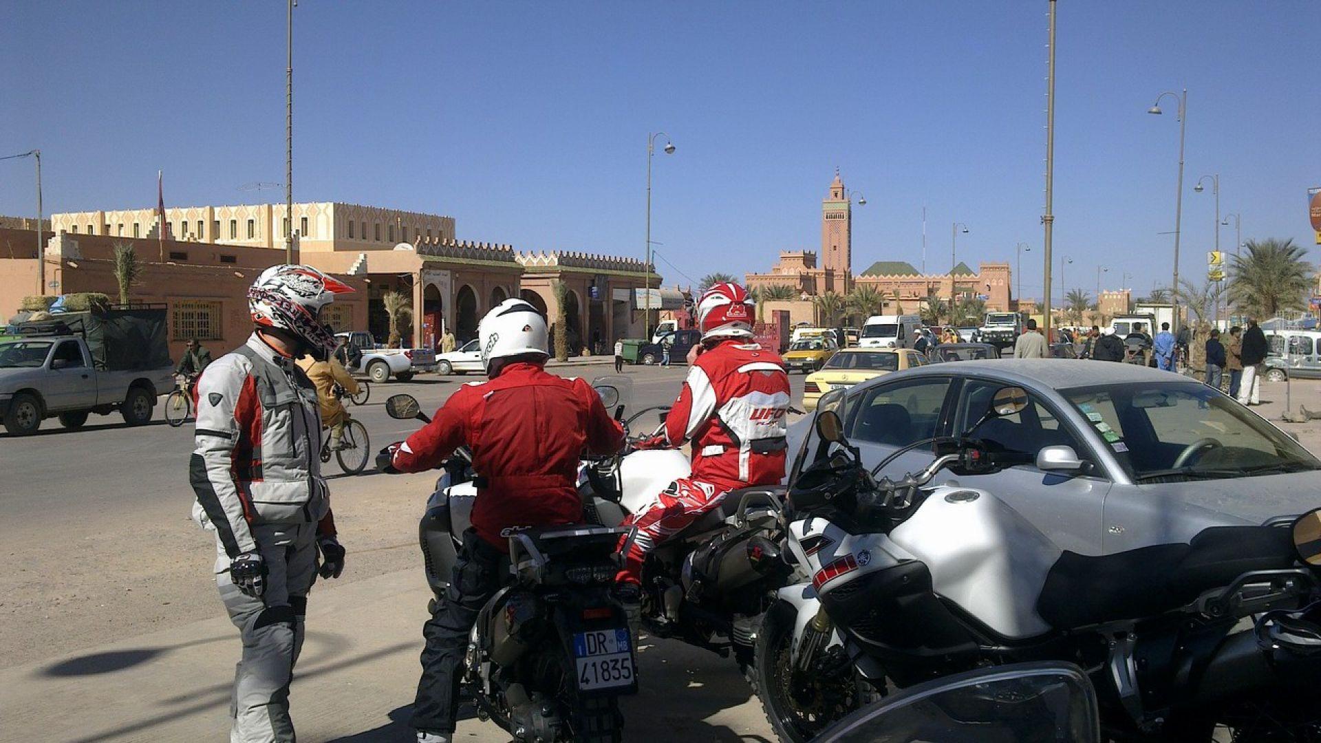 Immagine 154: In Marocco con la Yamaha Super Ténéré