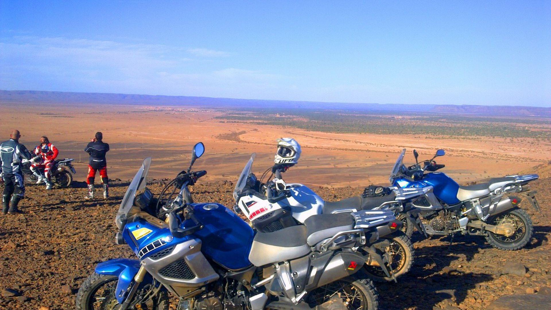 Immagine 116: In Marocco con la Yamaha Super Ténéré