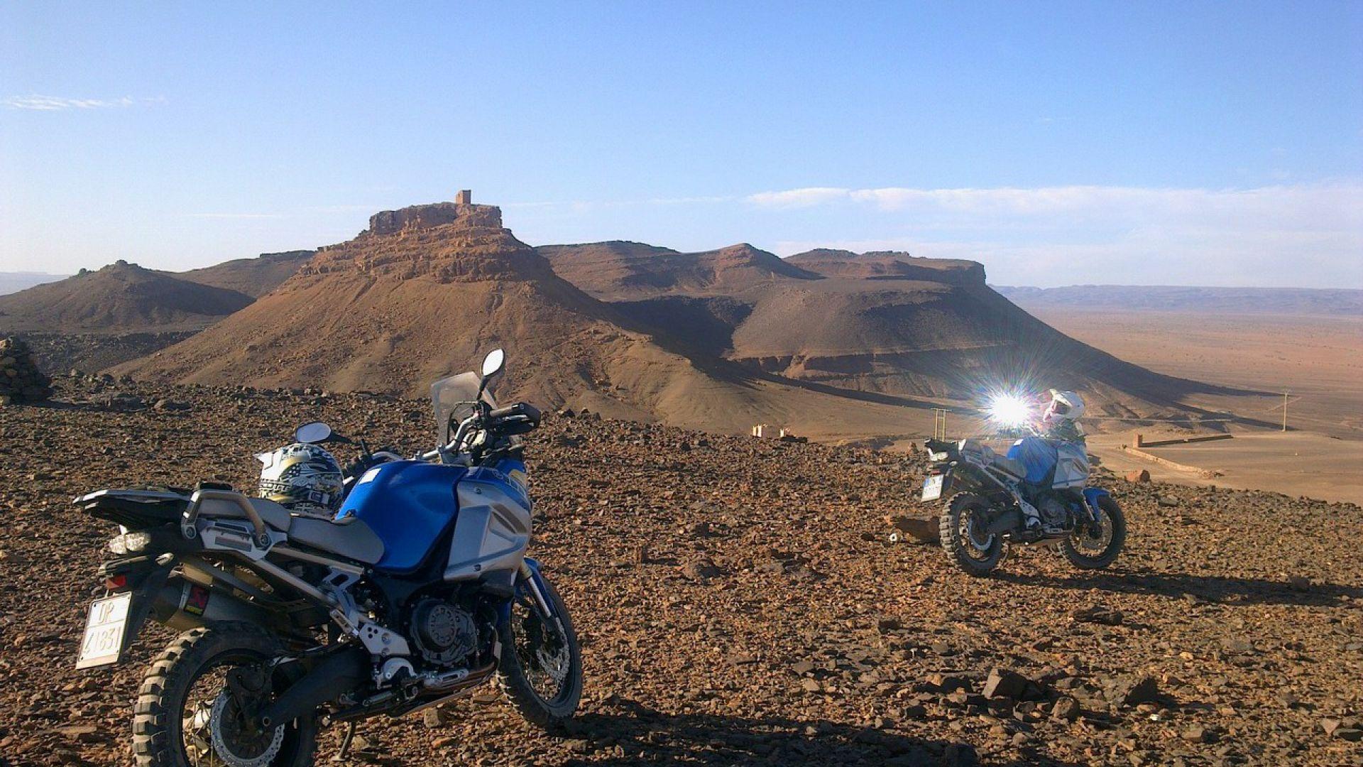 Immagine 118: In Marocco con la Yamaha Super Ténéré