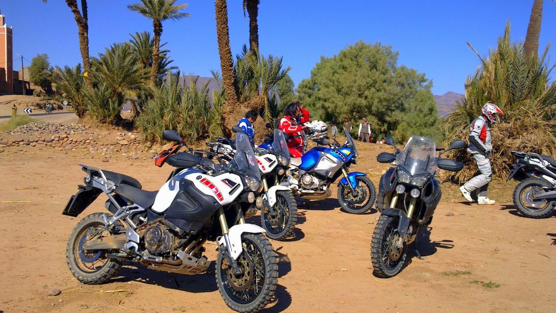 Immagine 142: In Marocco con la Yamaha Super Ténéré