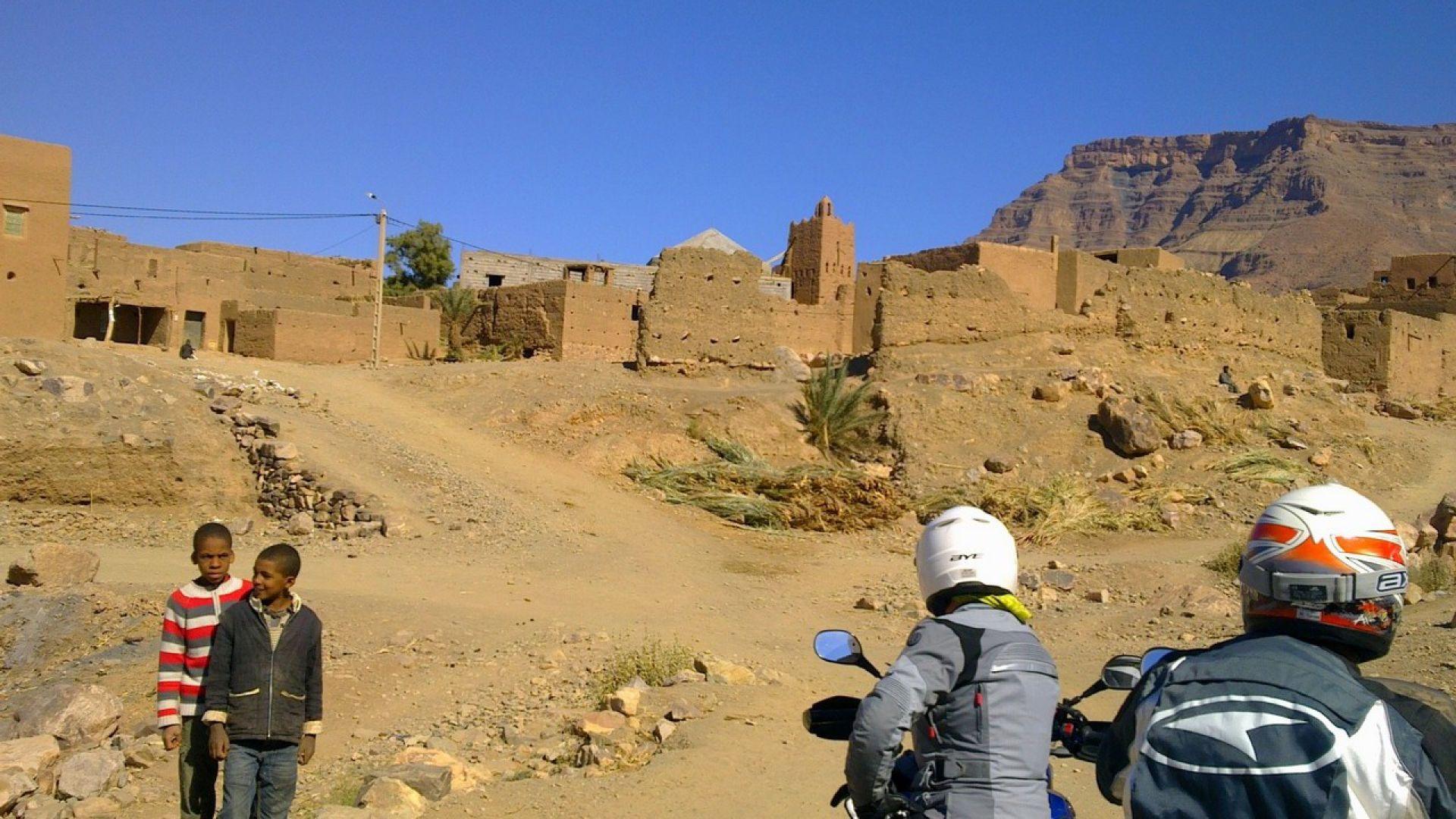 Immagine 143: In Marocco con la Yamaha Super Ténéré