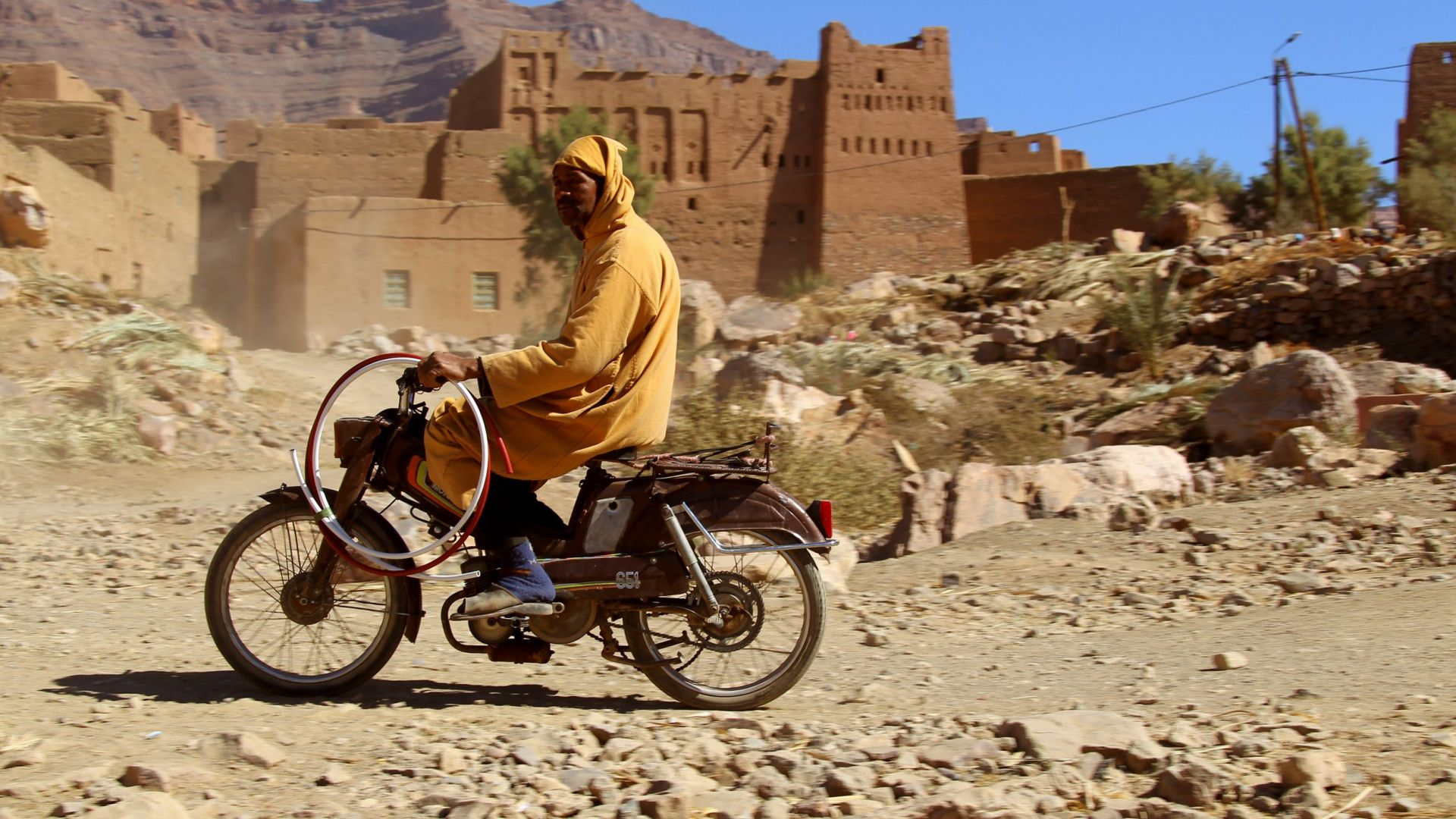 Immagine 22: In Marocco con la Yamaha Super Ténéré