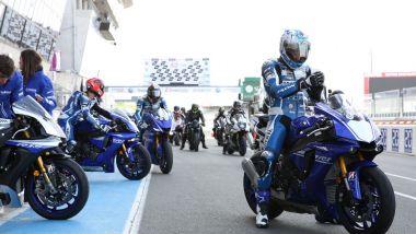 Yamaha Supersport Pro Tour 2021: prova R1, R1M, R6 e R6 Race in pista