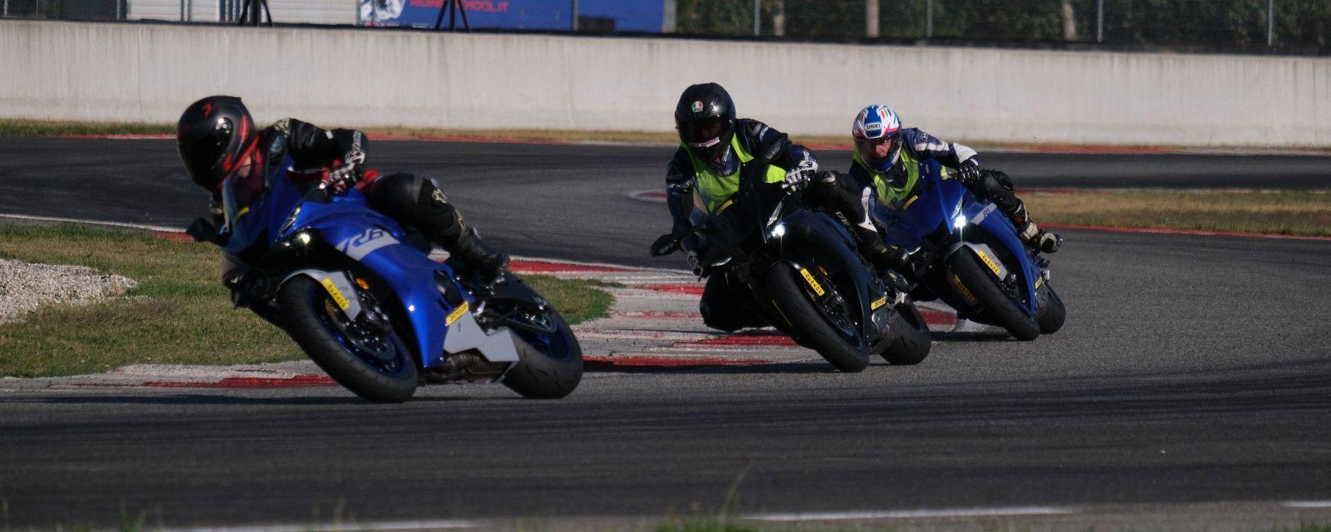 Yamaha Supersport Pro Tour: prova R1, R1M, R6 e R6 Race in pista