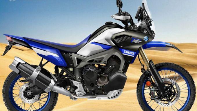 Yamaha SuperTénéré 1000: con il tre cilindri della MT-09 pronta per la Parigi-Dakar