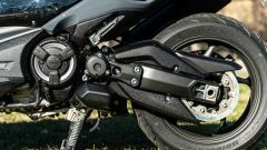 Yamaha T-Max 560, il forcellone