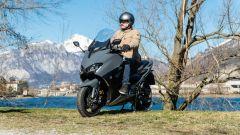 Yamaha T-Max 560, l'abbigliamento di Giorgio