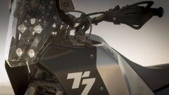 Yamaha T7 Concept, dettaglio frontale - EICMA 2017