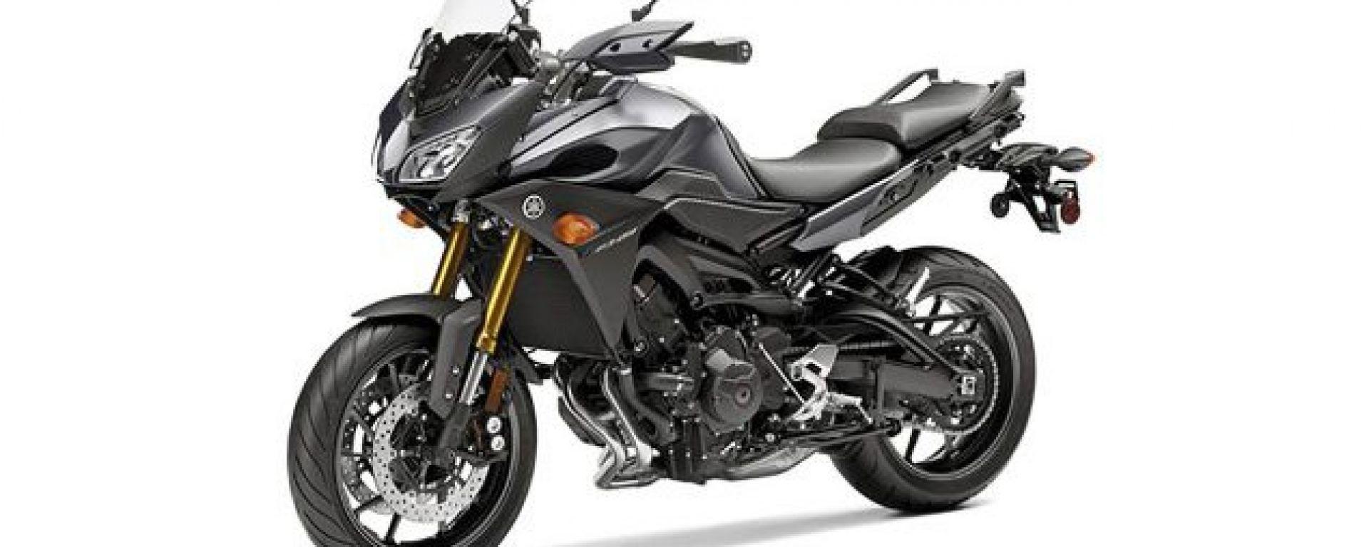 Yamaha TDM 2015: una foto in rete