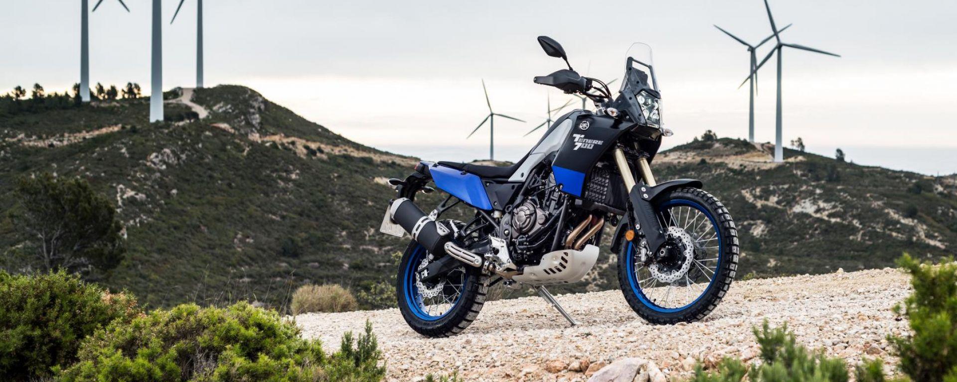Yamaha Ténéré 700: liberi di andare ovunque