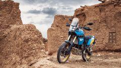 Yamaha Ténéré 700 Rally Edition nel deserto