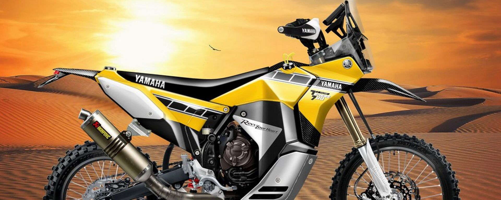 Yamaha Ténéré 700 Rally Racer
