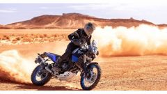 Yamaha Ténéré 700: si comporta bene anche sulla sabbia molle