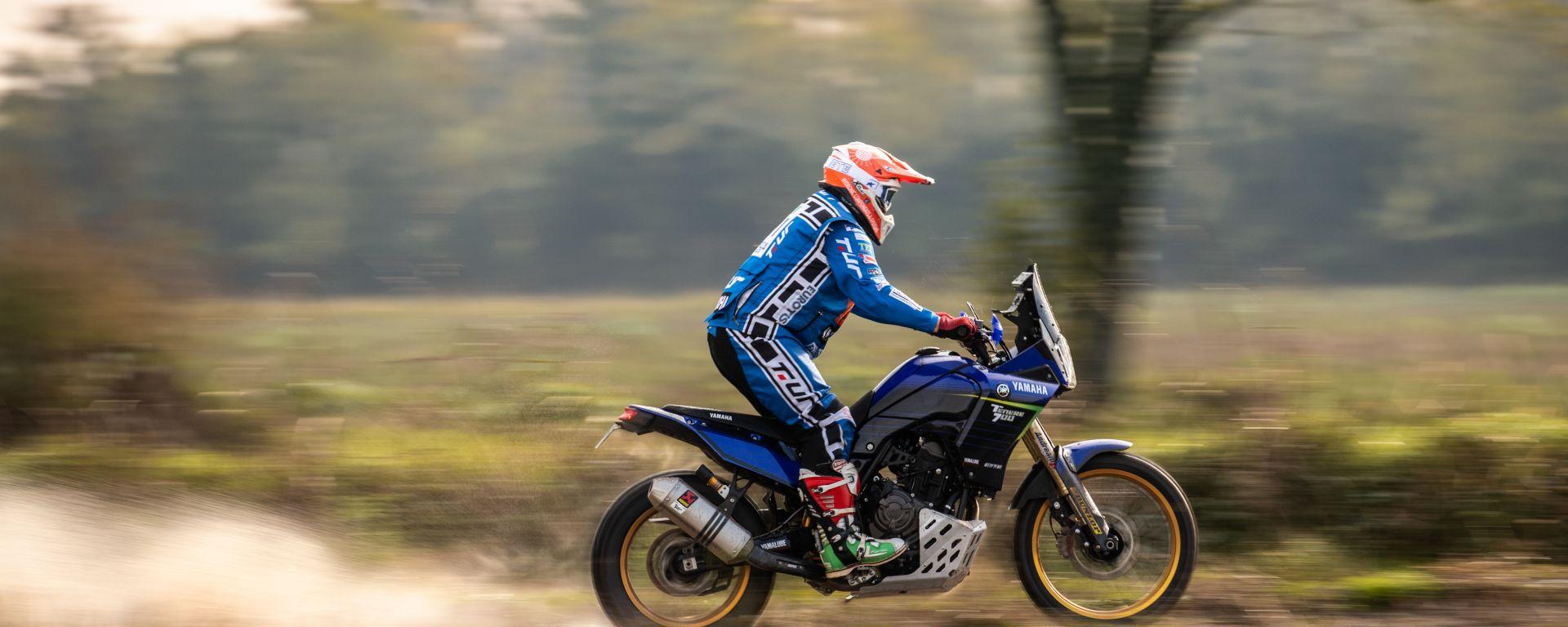 Yamaha Ténéré Challenge, l'animo racing della Ténéré