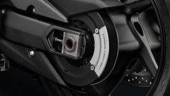 Yamaha Tmax 530 SX, protezione asse ruota