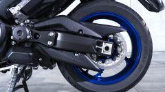 Yamaha TMAX 560 2020: dettaglio del posteriore