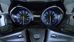 Yamaha TMAX 560, la strumentazione