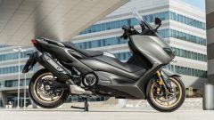 Yamaha TMax 560 Tech Max 2020: vista laterale
