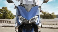 Yamaha TMAX DX, il frontale