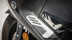 Yamaha TMAX SX 2017: dettaglio della pedana