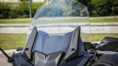Yamaha TMAX SX 2017: il parabrezza