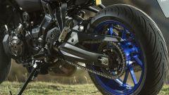 Yamaha Tracer 700 2020: il forcellone è in alluminio