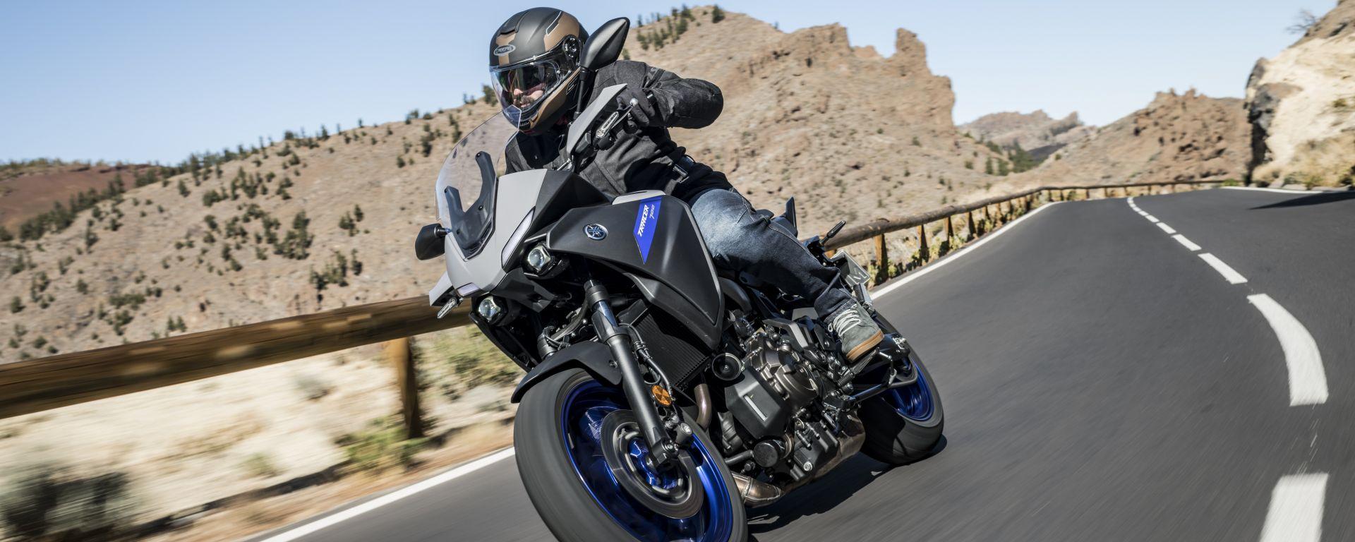 Yamaha Tracer 700 2020:gli accessori dello Sport Pack
