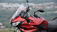 Yamaha Tracer 700, parte frontale