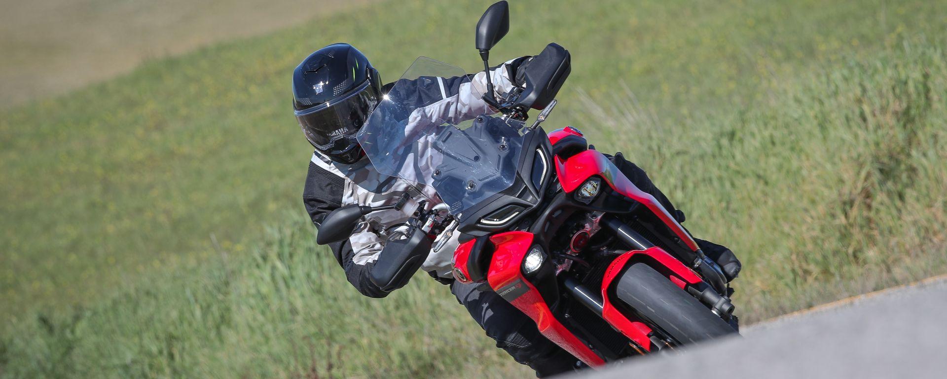 Yamaha Tracer 9 e Tracer 9 GT 2021: la prova in video