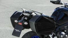 Yamaha Tracer 900 GT: dettaglio delle borse laterali