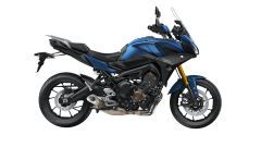 Yamaha Tracer 900 GT in colorazione Phantom Blue