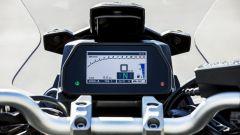 Yamaha Tracer 900 GT: la strumentazione digitale a colori
