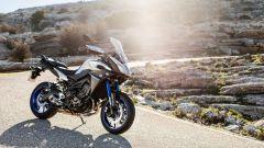 Yamaha Tracer 900: le versioni post 2017 hanno il TC regolabile così come il parabrezza