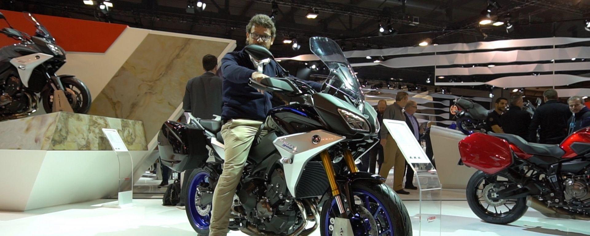 Yamaha Tracer 900 M.Y. 2018: tutta nuova per EICMA 2017 [VIDEO]