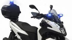 Yamaha Tricity 125 Police, i lampeggianti blu