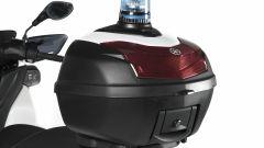Yamaha Tricity 125 Police, il baluletto da 39 litri con lampeggiante